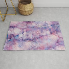 Texture Marble effect Rug