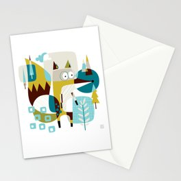 Fox in a box Stationery Cards