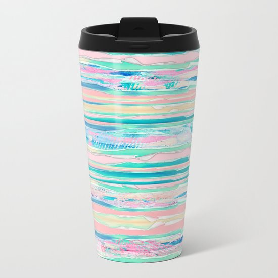 Hidden Layers Metal Travel Mug