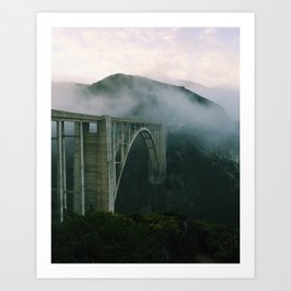 Bixby Bridge, Big Sur, California Art Print