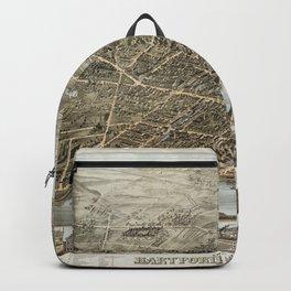 Hartford Panorama 1877 Backpack