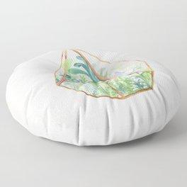 Terrarium Garden II Floor Pillow