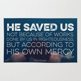 Titus 3:5 Rug