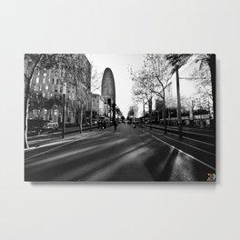 BCN Metal Print