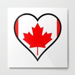 Love Canada Metal Print