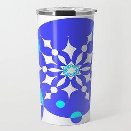 A Delightful Winter Snow Design Travel Mug