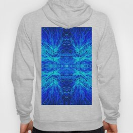 Electric Ocean Sunset by Chris Sparks Hoody