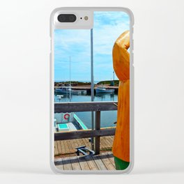 Watchman and the Wharf Clear iPhone Case