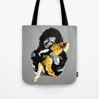 ripley Tote Bags featuring Officer Ripley by mirodeniro