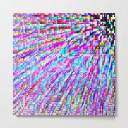 colorful pixels Metal Print
