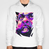 nba Hoodies featuring JAMES HARDEN: NBA ILLUSTRATION V2 by mergedvisible