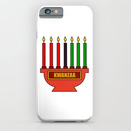 Kwanzaa iPhone Case