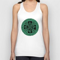 celtic Tank Tops featuring Celtic Nature by Astrablink7