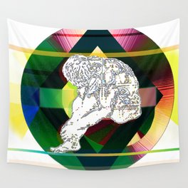 """""""Master your own mind"""" Wall Tapestry"""