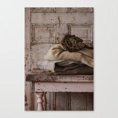 Les Tissus II Canvas Print