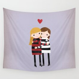 Best Friends Forever - Girls Wall Tapestry