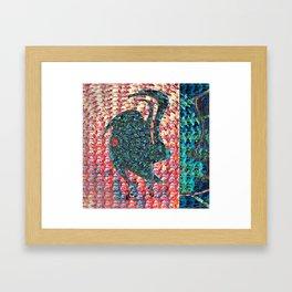 Grape Soda Jamb Framed Art Print