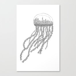 NY Sea Canvas Print