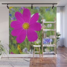 Flowers Go Wild in Wimbledon 5 - Cosmos the bold Wall Mural