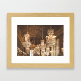 The Classiest Hallway in France Framed Art Print