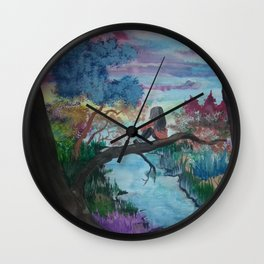 Lost In Thoughts Wall Clock