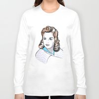 minnie Long Sleeve T-shirts featuring Minnie by Christie  Elise