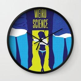 80s TEEN MOVIES :: WEIRD SCIENCE Wall Clock