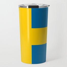 Flag: Sweden Travel Mug