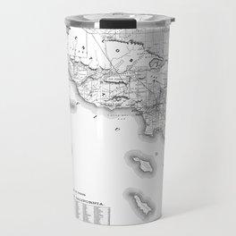 Southern California Map Travel Mug