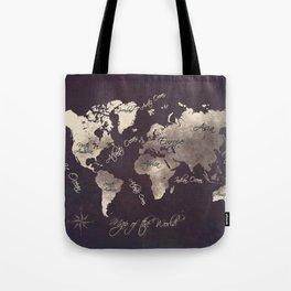 world map 18 Tote Bag