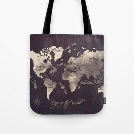 world map 18 Tote Bag