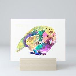 Kakapo bird Mini Art Print