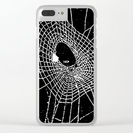 cobweb Clear iPhone Case