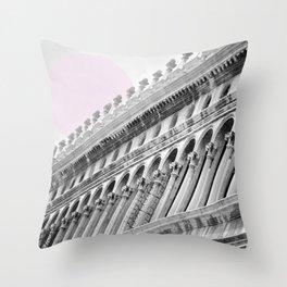 Venetian facade Throw Pillow