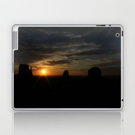 Sunrise over Monument Valley East & West Mitten Buttes Laptop & iPad Skin