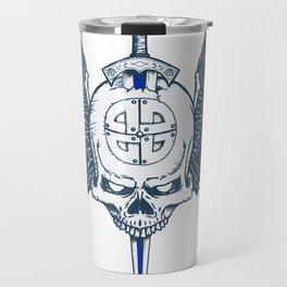Valhalla Skull Travel Mug