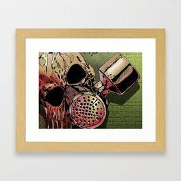 Code Red Framed Art Print