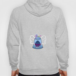 Bell on Purple Hoody