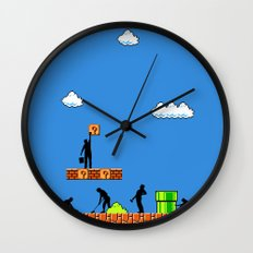 Super Clean Up Wall Clock
