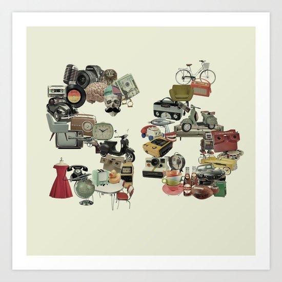 Artetro  Art Print
