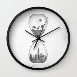 THE EVOLUTION OF THE WORLD Wall Clock