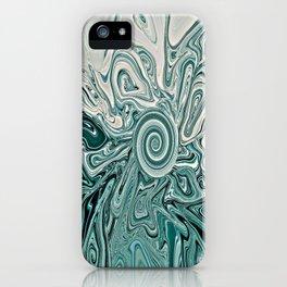 Green Lunacy iPhone Case