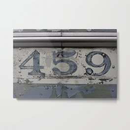 459 Metal Print