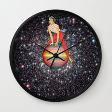 Star Hopper 3 Wall Clock