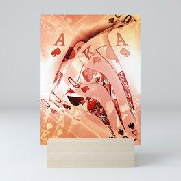 Royal Flush Mania Mini Art Print