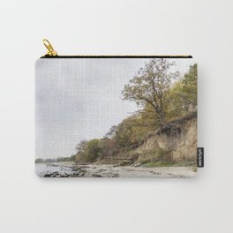 Along The Cliff On Baltic Sea Carry-All Pouch
