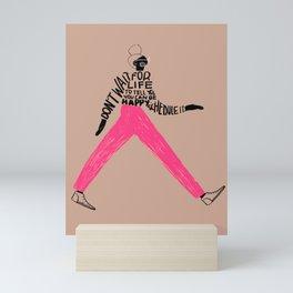 Schedule Your Joy Mini Art Print