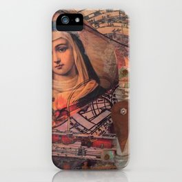 Projecting Mary iPhone Case