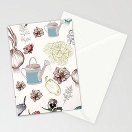 Cozy kitchen garden Stationery Cards