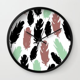 Feather flash Wall Clock